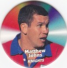 1997 Fatty's Turn it Up Pog #20 - Matthew Johns