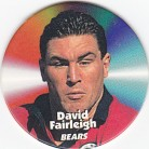 1997 Fatty's Turn it Up Pog #21 - David Fairleigh