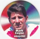 1997 Fatty's Turn it Up Pog #34 - Mark Coyne