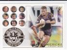 2003  XL TY08 Dally M Awards Team of the Year 2002 Shane Webcke