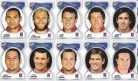 2006 Accolade Footy Faces Team Set - Knights