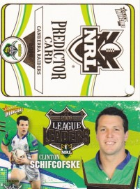2006 Invincible Predictor and League Leader - Canberra Raiders