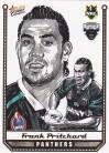 2007 Champions SK22 Sketch Card Frank Pritchard
