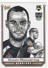 2007 Champions SK30 Sketch Card Simon Mannering