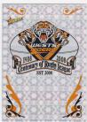 2008 Centenary CP16 Holofoil Club Logo Tigers
