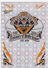 2008 Centenary CP16 Holofoil Club Logo Tigers