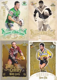 2008 Centenary 4 Card Promo Set
