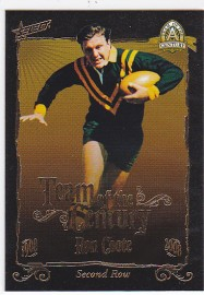 2008 Centenary TC12 Team of the Century Ron Coote