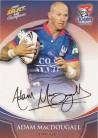 2008 Champions FS23 Foiled Signature Adam MacDougall