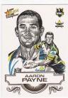 2008 Champions SK17 Sketch Card Aaron Payne