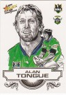 2008 Champions SK05 Sketch Card Alan Tongue