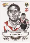 2008 Champions SK27 Sketch Card Anthony Tupou