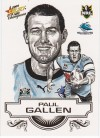 2008 Champions SK07 Sketch Card Paul Gallen