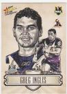 2009 Champions SK13 Sketch Card Greg Inglis
