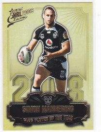2009 Classic CP15 Club Player of the Year Simon Mannering