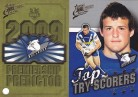 2009 Classic PC02 Predictor & Top Try Scorer - Bulldogs
