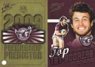 2009 Classic PC06 Predictor & Top Try Scorer - Sea Eagles