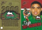 2009 Classic PC13 Predictor & Top Try Scorer - South Sydney Rabbitohs