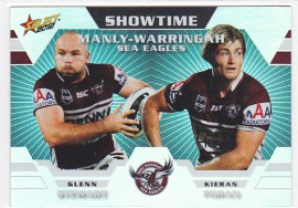 2012 Champions ST06 Showtime Holochrome Manly Sea Eagles