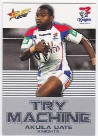2012 Champions TM23 Try Machine Akuila Uate