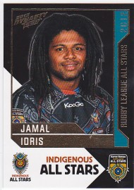 2012 Dynasty AS12 Indigenous All Stars Jamal Idris