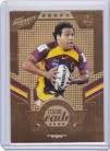 2012 Dynasty League Leader Gold LLG01 - Sam Thaiday #133/150