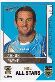 2012 Dynasty AS29 NRL All Stars Aaron Payne