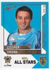 2012 Dynasty AS27 NRL All Stars Cooper Cronk