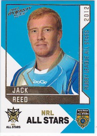 2012 Dynasty AS23 NRL All Stars Jack Reed