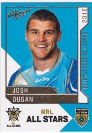 2012 Dynasty AS21 NRL All Stars Josh Dugan