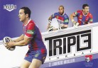 2013 Elite Triple Threat TT23 - Jarrod Mullen - Knights