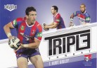 2013 Elite Triple Threat TT22 - Kurt Gidley - Knights