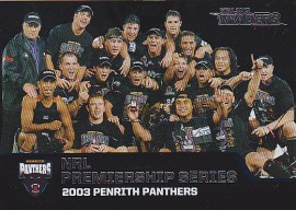 2013 Traders P06 NRL Premiership 2003 - Penrith Panthers