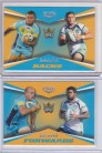 2015 Elite Quads Insert Pair - Gold Coast Titans #47/65