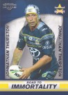 2016 Elite Road to Immortality Box Card BC01 - Johnathan Thurston