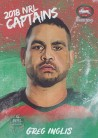 2018 Elite Captains CC12 - Greg Inglis - Rabbitohs