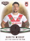 2018 Elite Dally M Awards DM16 - Gareth Widdop - Five-Eighth of the Year