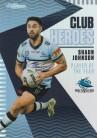 2021 Traders Club Heroes CH07 Sharks - Shaun Johnson
