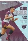 2021 Traders Club Heroes CH11 Manly - Tevita Funa