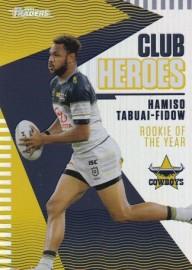 2021 Traders Club Heroes CH18 Cowboys - Hamiso Tabuai-Fidow