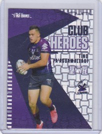 2021 Traders Priority Club Hero Parallel CH14 - Tino Fa'Asuamaleaui #10/23