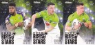 2021 Traders Rising Star Team Set RS04-06 - Raiders