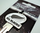 3D Sculptured House Key - All Blacks