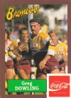 1989 Broncos - Greg Dowling