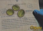 Grimm Secrets Chase Card GS01 - The Coins of Zakynthos