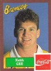 1989 Broncos - Keith Gee