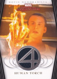 Marvel Masterpieces 2007 - FF3 Human Torch Costume Card
