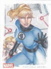 Women of Marvel 2 Artifex Card O9 - Invisible Woman