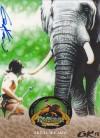 Tarzan Gary Kezele Autographed Promo Card - P04