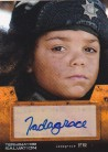Jadagrace as Star Autograph Card from Terminator Salvation